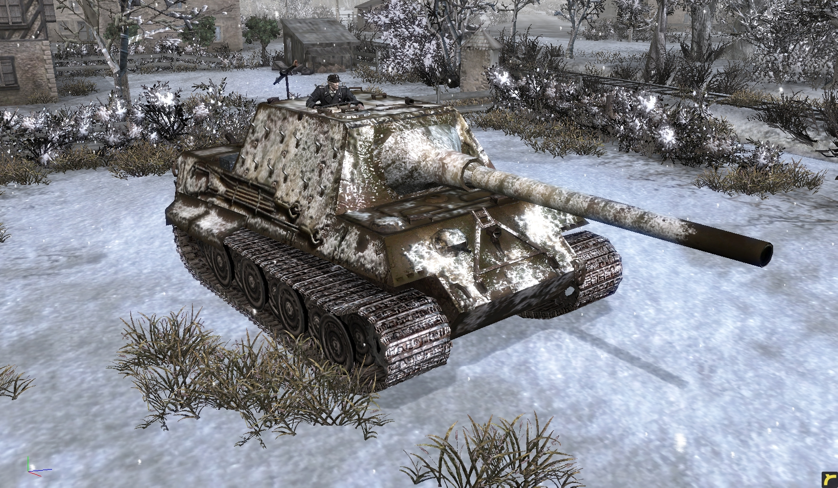 Jagdtiger Image Europe At War Mod For Company Of Heroes Opposing Fronts Mod Db