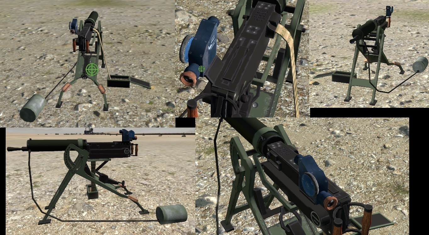 77 ARMA 3 HOW TO ASSEMBLE STATIC WEAPONS
