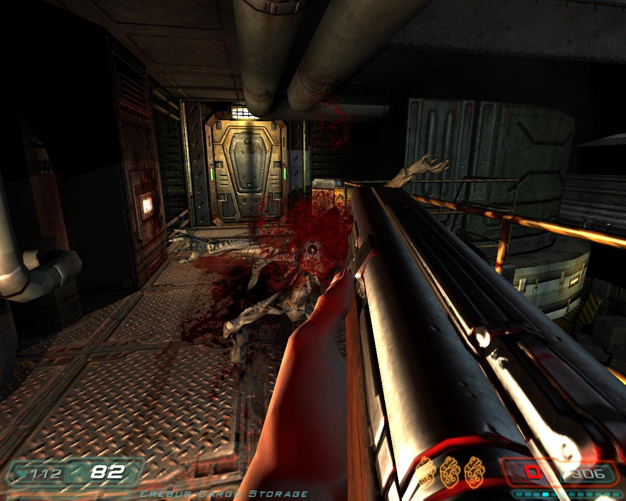 Doom 3 Weapons Mod Doom 2 Walkthrough - timlivin