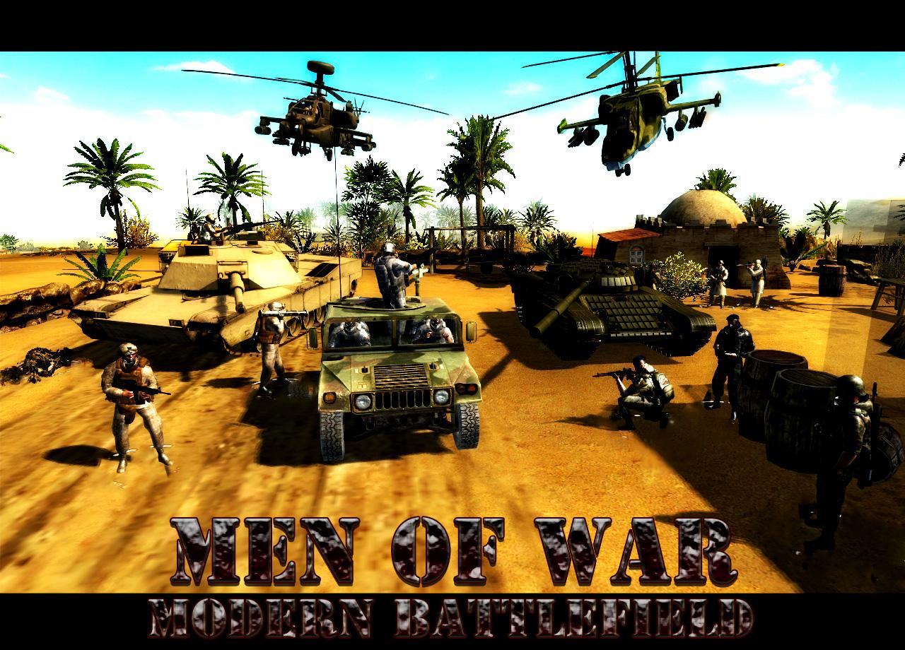 Modern Battlefield For Men Of War Mod Db