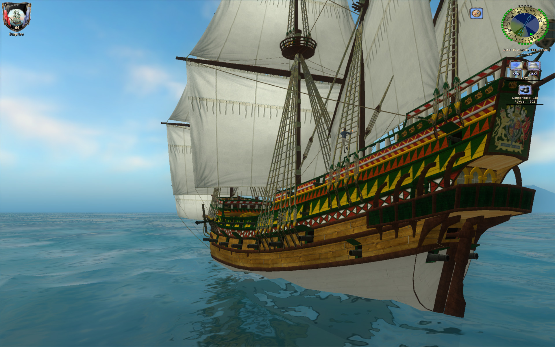 Revenge hull 3 image  Age of Pirates 2 Gentlemen of Fortune mod