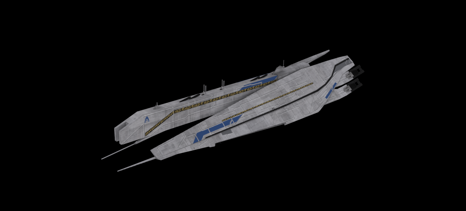 Systems Alliance Dreadnought: Skinned image - Dawn of the ...