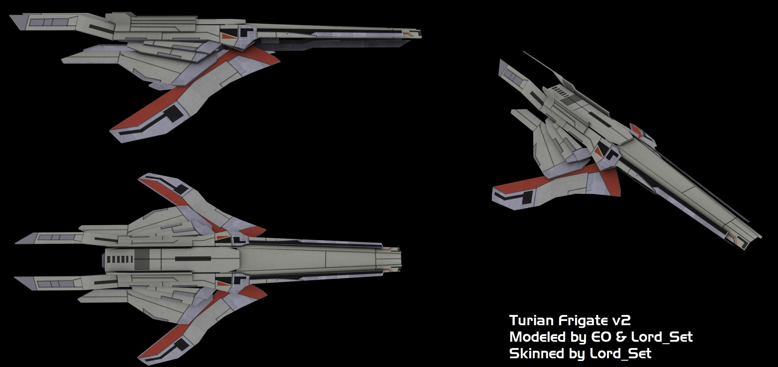 Turian Frigate V2 Skinned Image Dawn Of The Reapers Mod For Sins