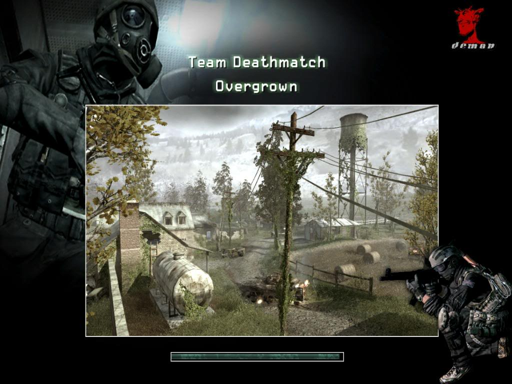 Белконтакт. Demon MW2 mod for COD4: Modern Warfare. call of duty mw2 mods