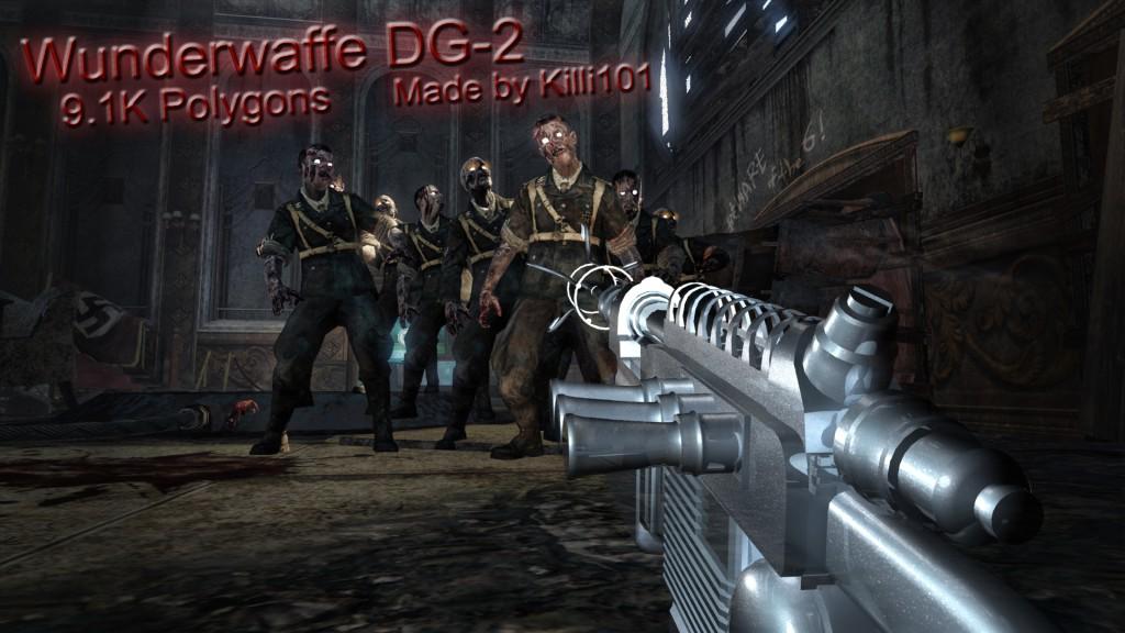 cod 2 zombies wallpaper