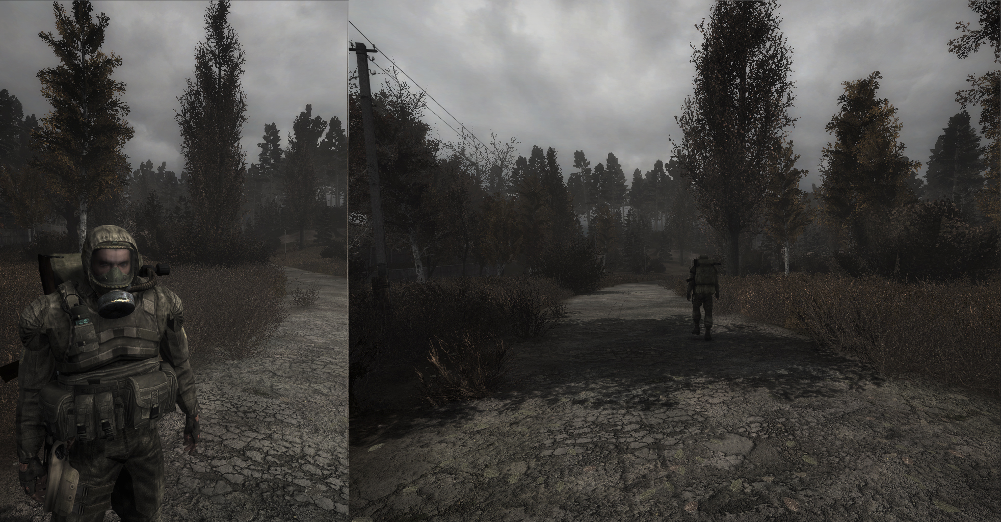 Скачать сталкер с модом autumn aurora 2