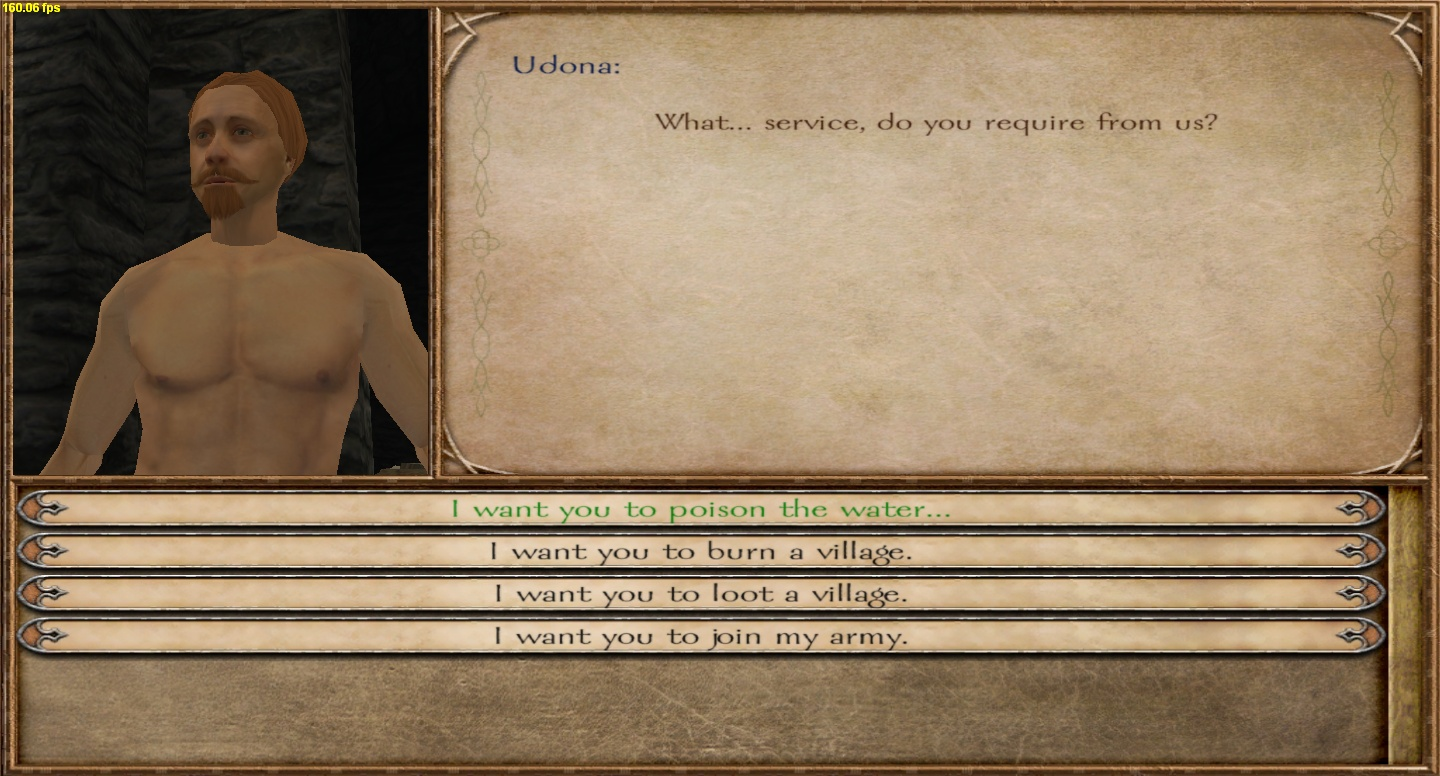 mount and blade nude