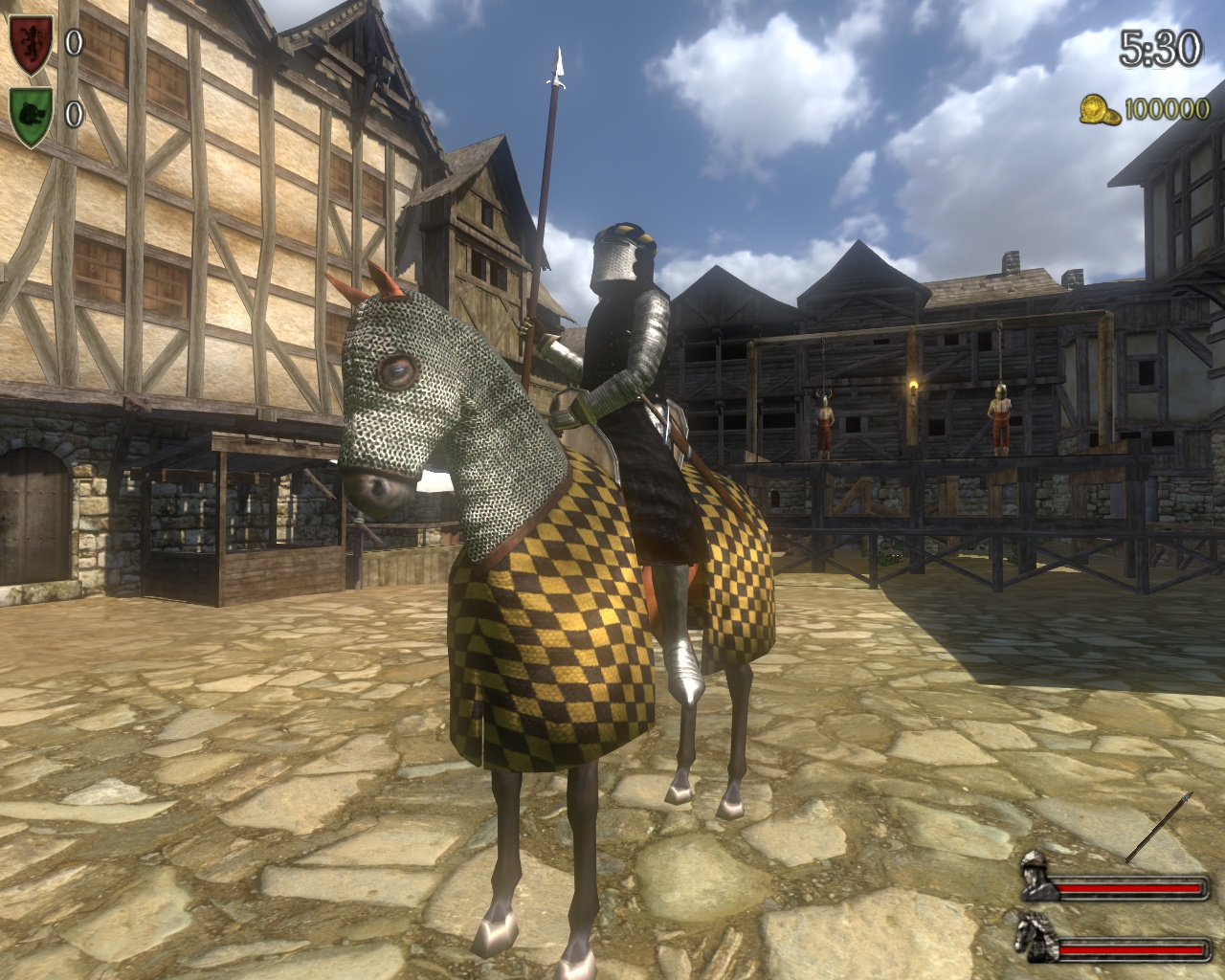 executioner Mount & Blade Warband Full PC Game