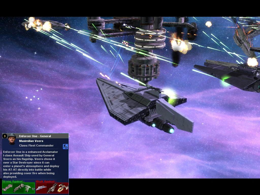Enforcer One General Veers Flagship Image Rise Of The Droid Empire Mod For Star Wars Empire At War Forces Of Corruption Mod Db