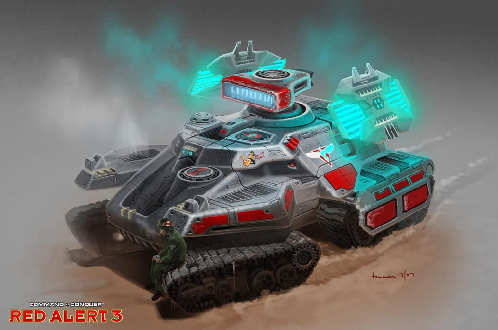 mirage tank from RA3 image - Red Alert Three mod for C&C ... Red Alert 3 Tank