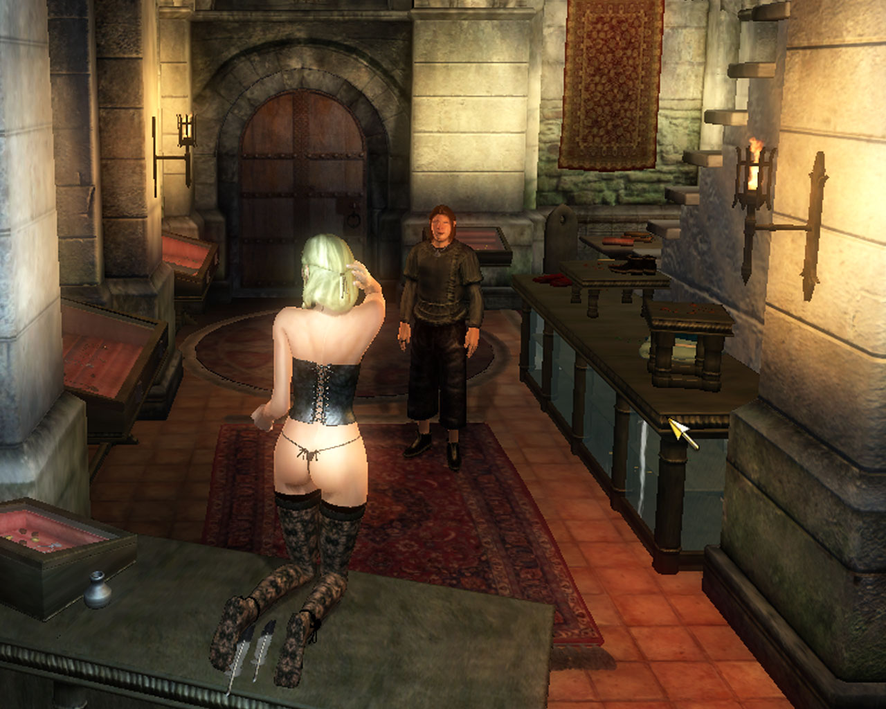 Elder scrolls 4 sex mod naked video