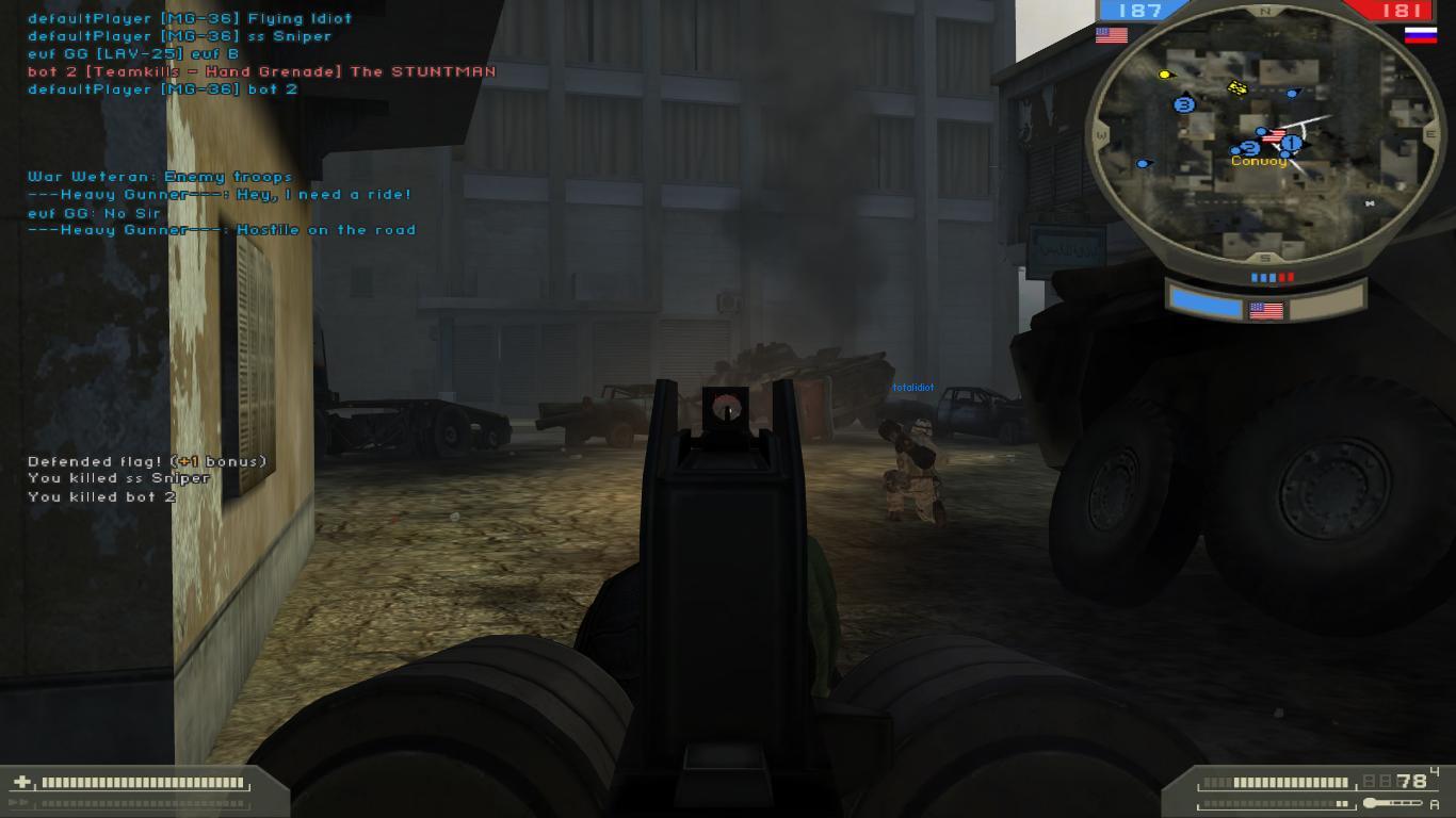 MG36 ironsights image - Spec Ops Warfare mod for Battlefield