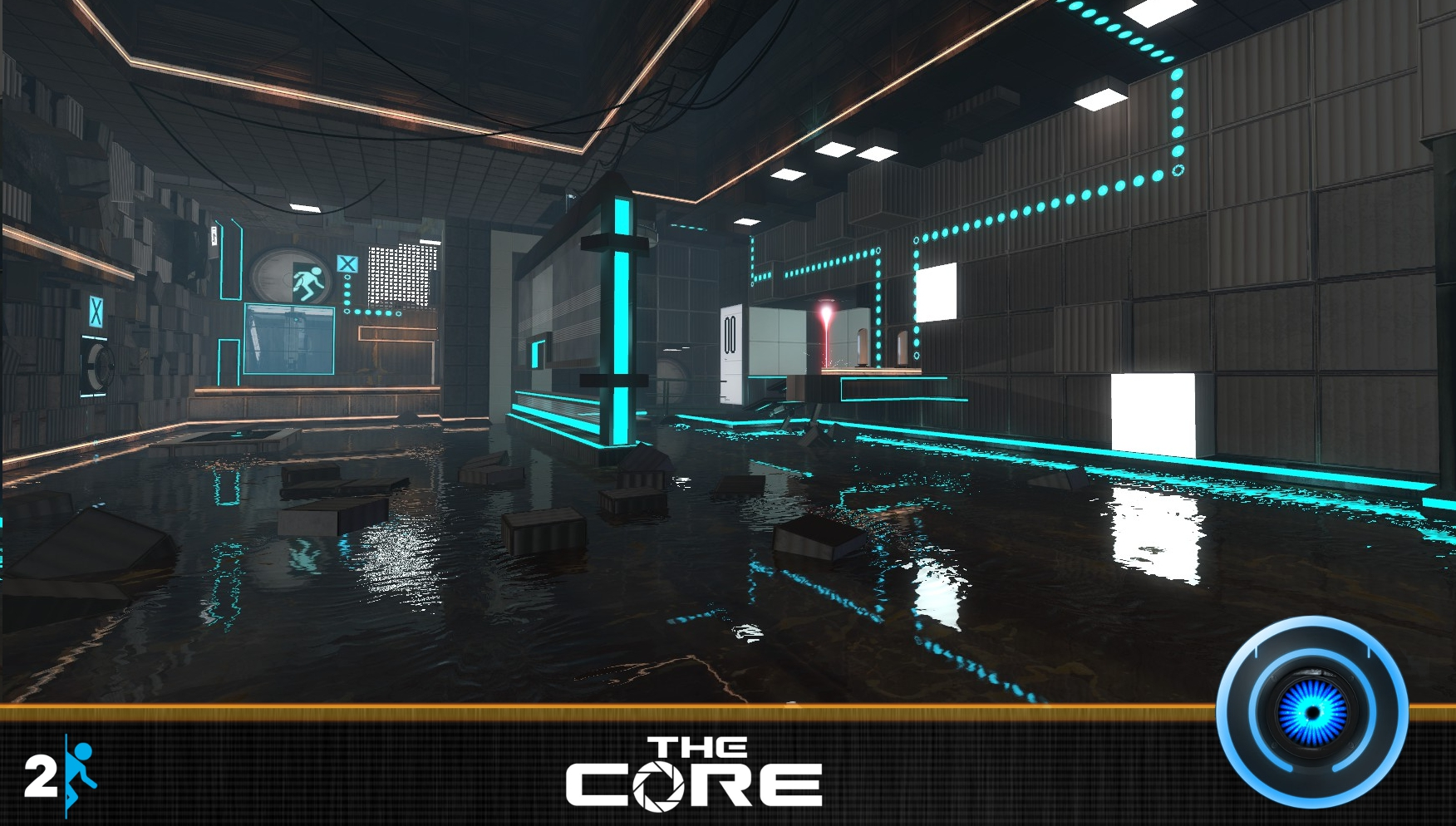 new map layout for cosmicd s the core image the core reloaded mod