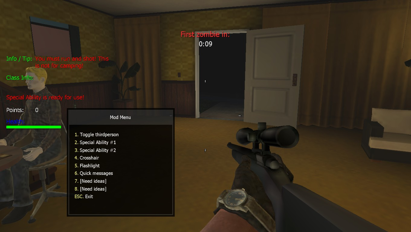 R700 And Mod Menu (is beta) image - x7'ZombieExtMod for Call of Duty