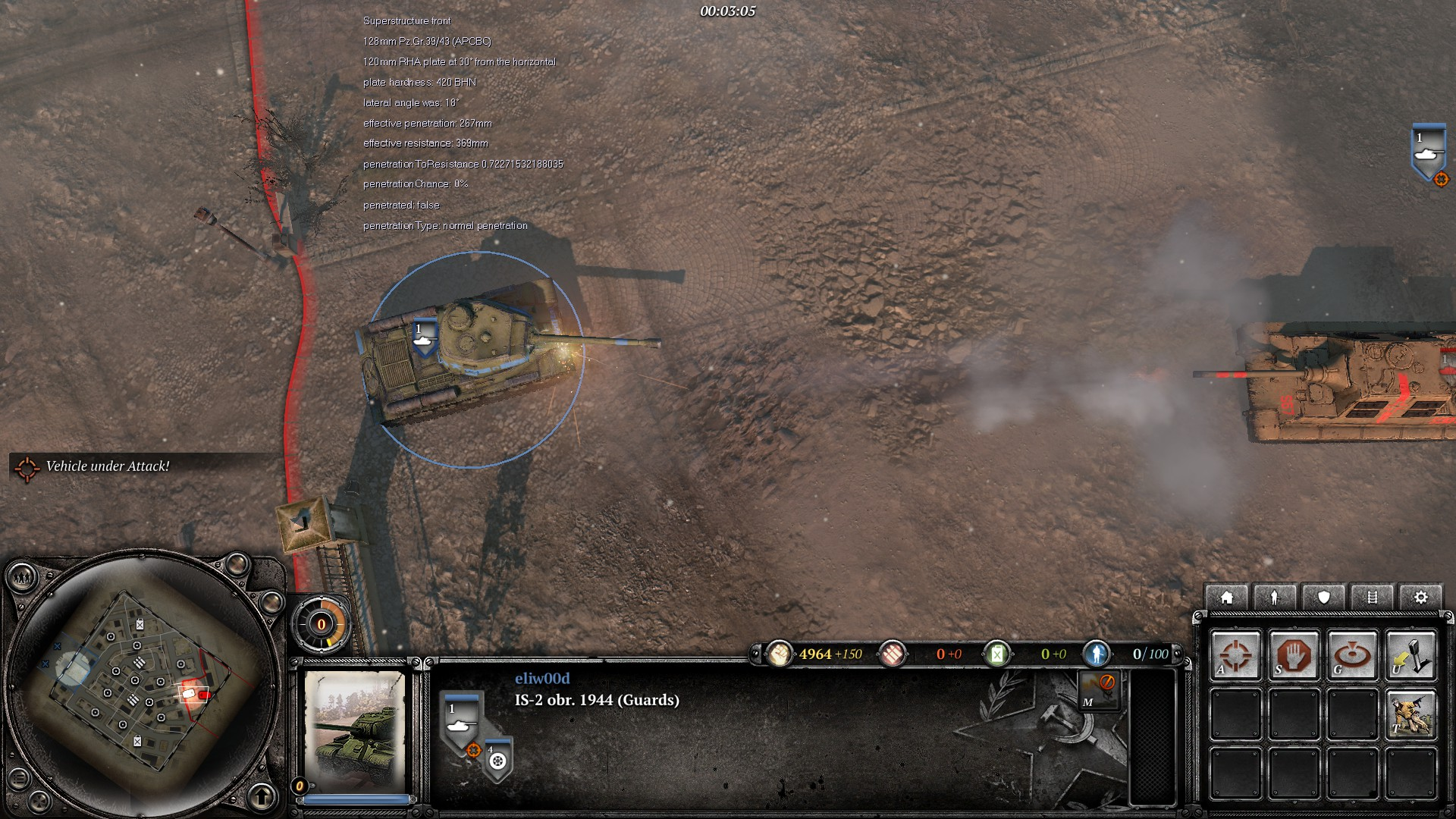 Jagdtiger Vs Is 2 Image Fortress Europe Mod For Company Of Heroes 2 Mod Db