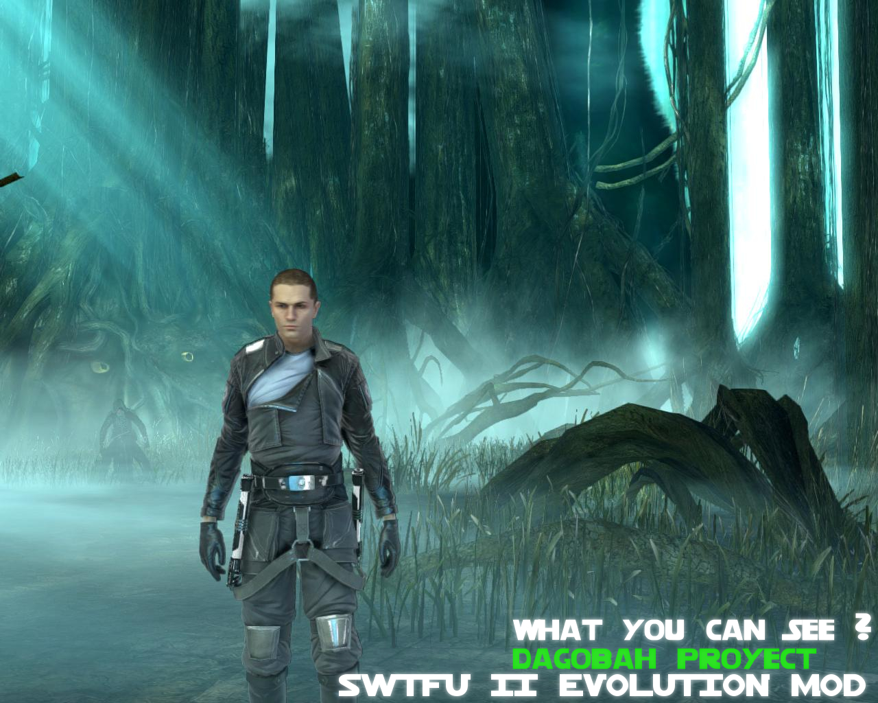 dagobah project with y image - star wars the force unleashed ii