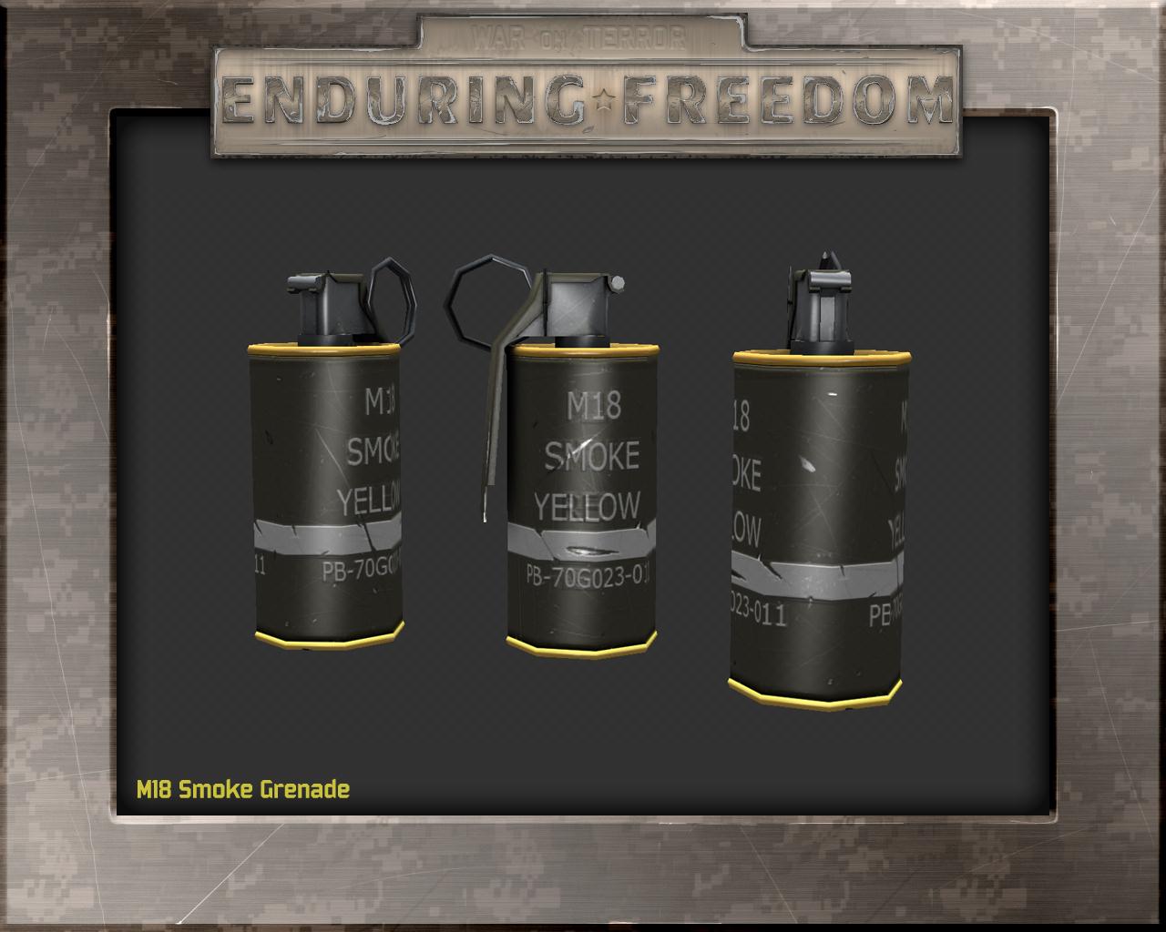 M18 Smoke Grenade image - Enduring Freedom - War on Terror