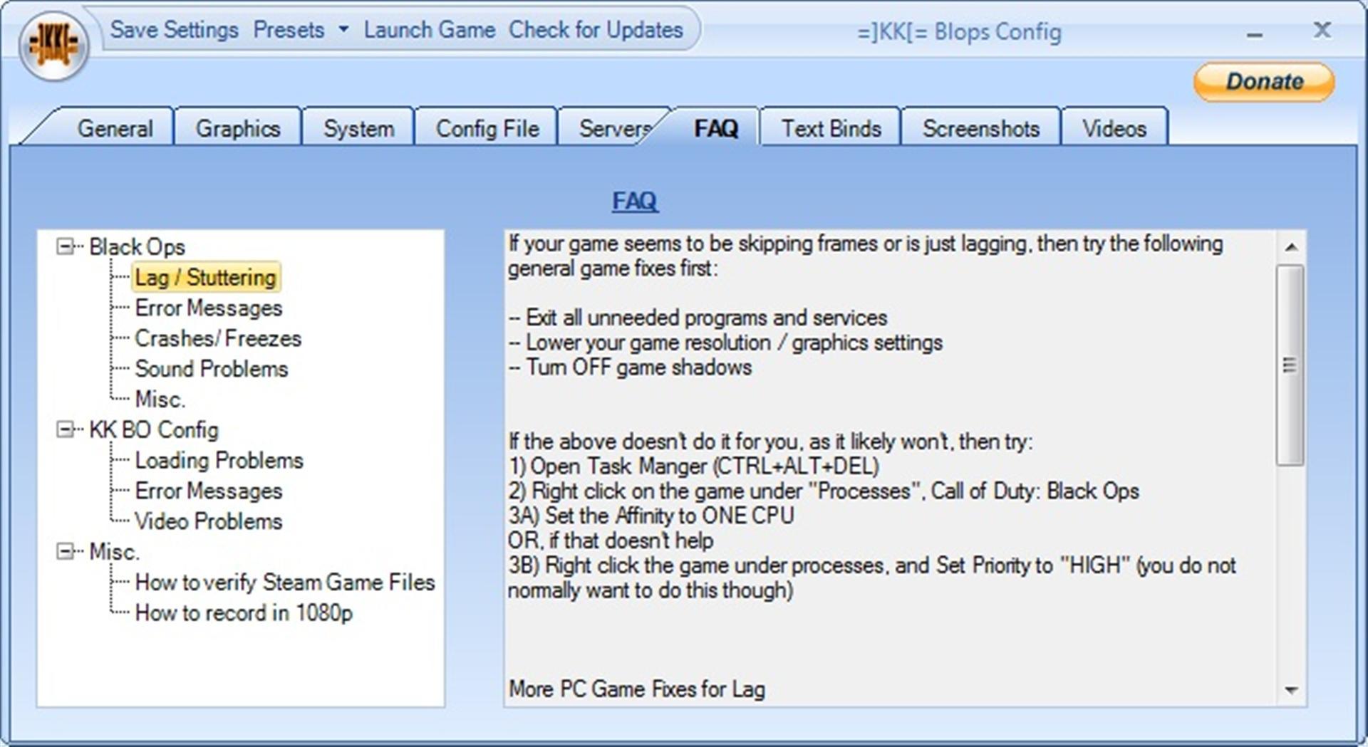 KK[= BO Config Tool Preview Screens image - Mod DB