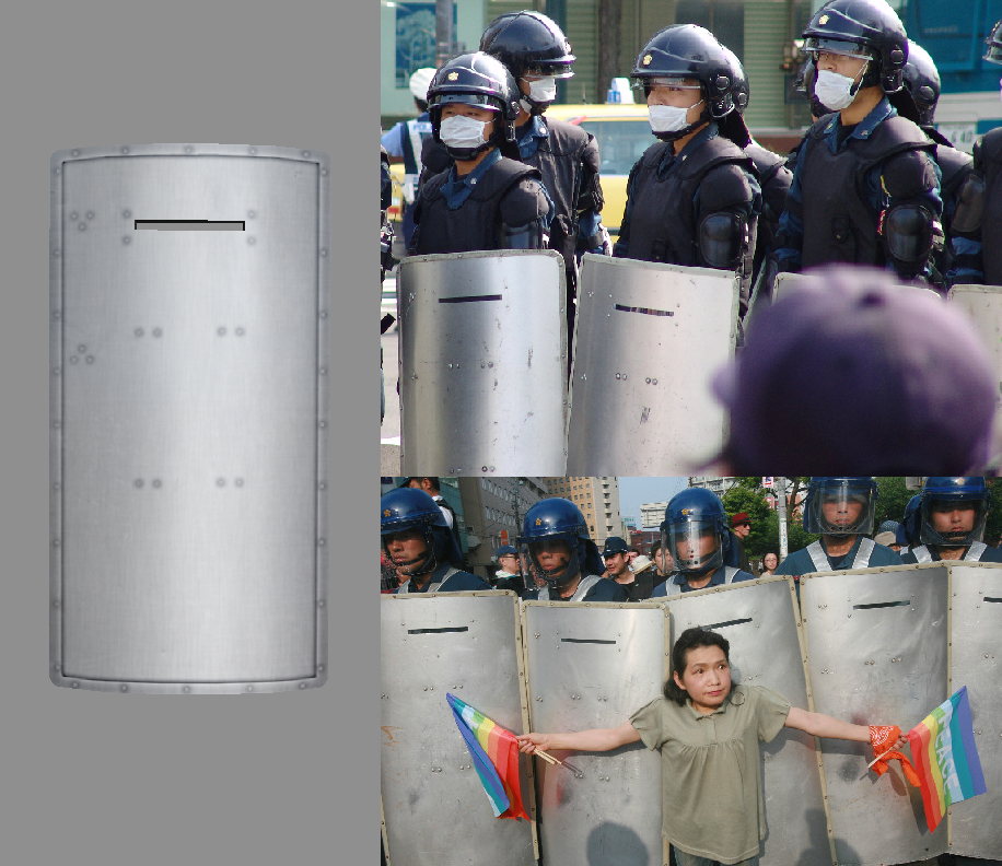 Police Riot Shield image - H.O.T.D. mod for Mount & Blade ...