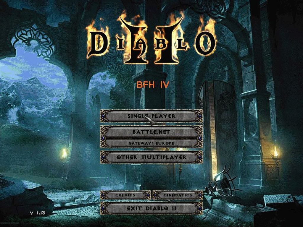 Diablo 2 multires 1.13 c download