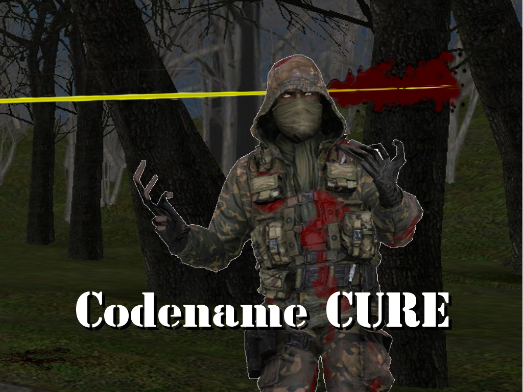 codename cure mod for half-life 2