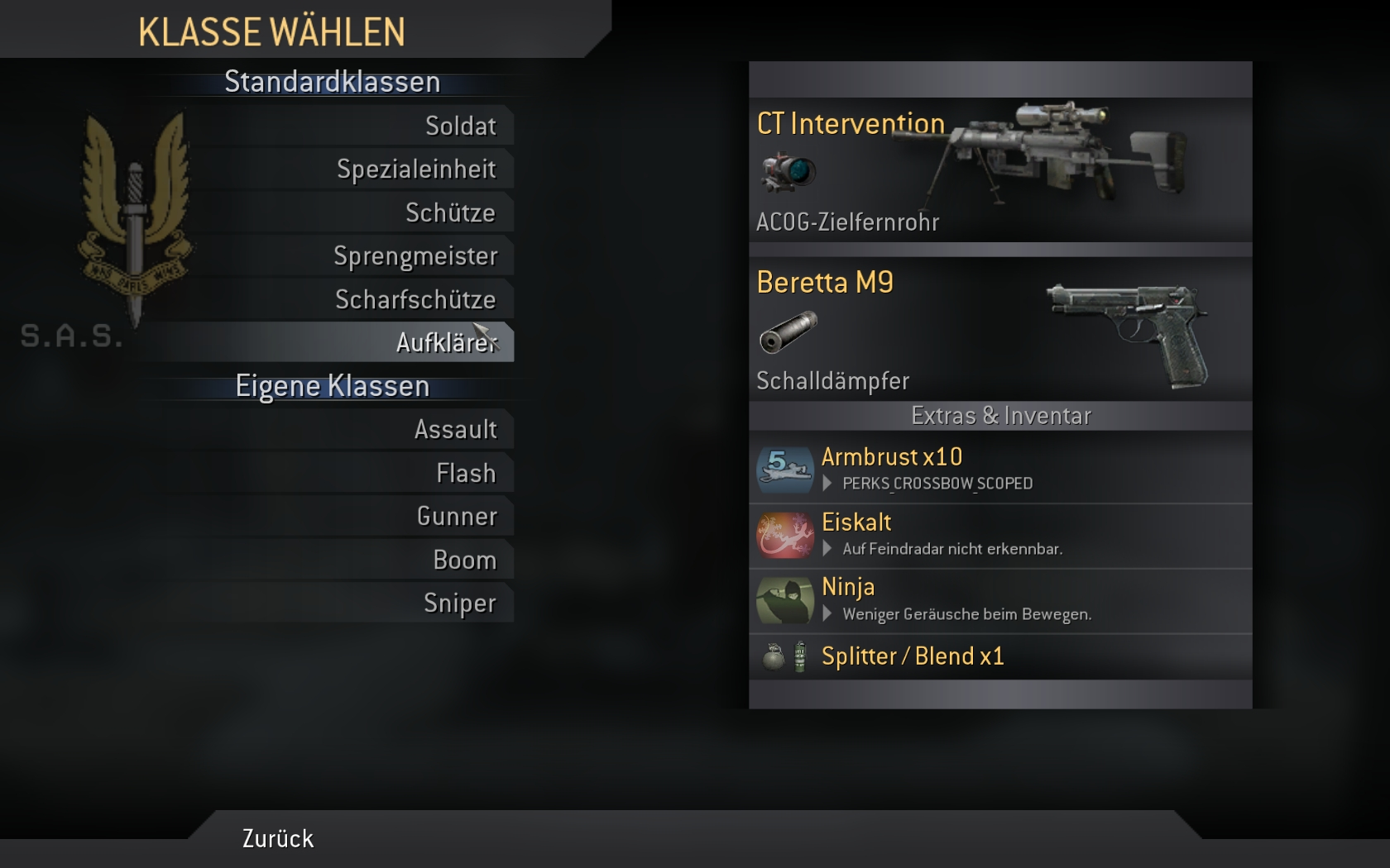 good custom classes for mw2 mods