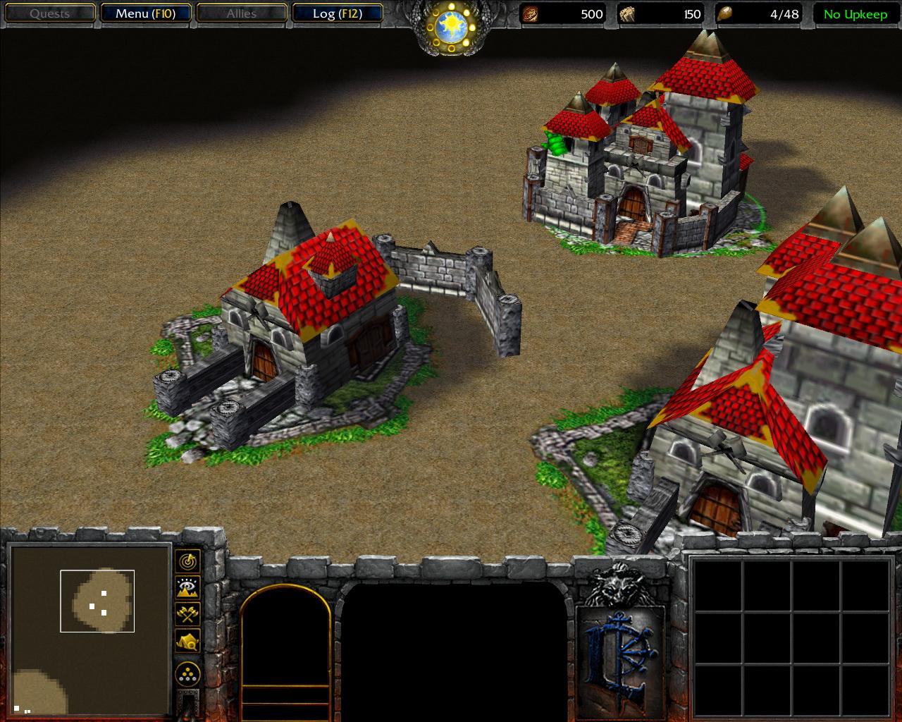 Human Townhall image - Warcraft Resurrection mod for