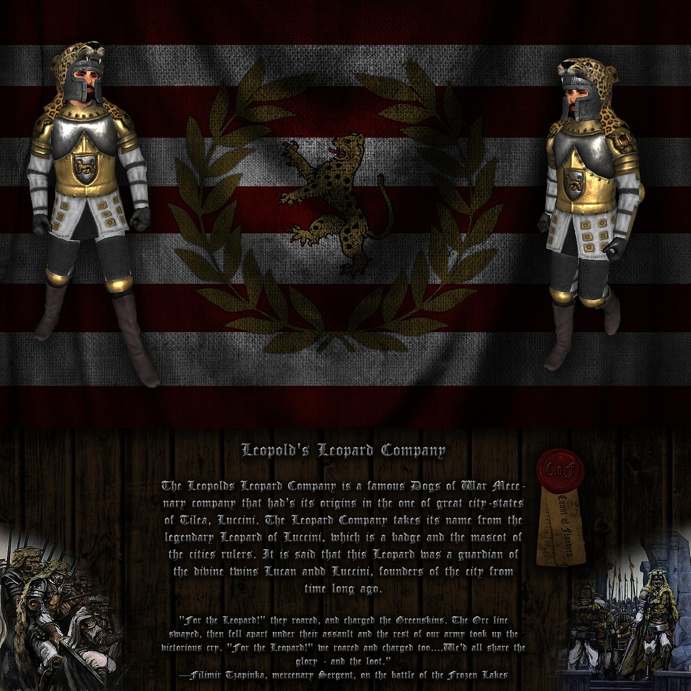 [SP][ES] Warsword Conquest Leop