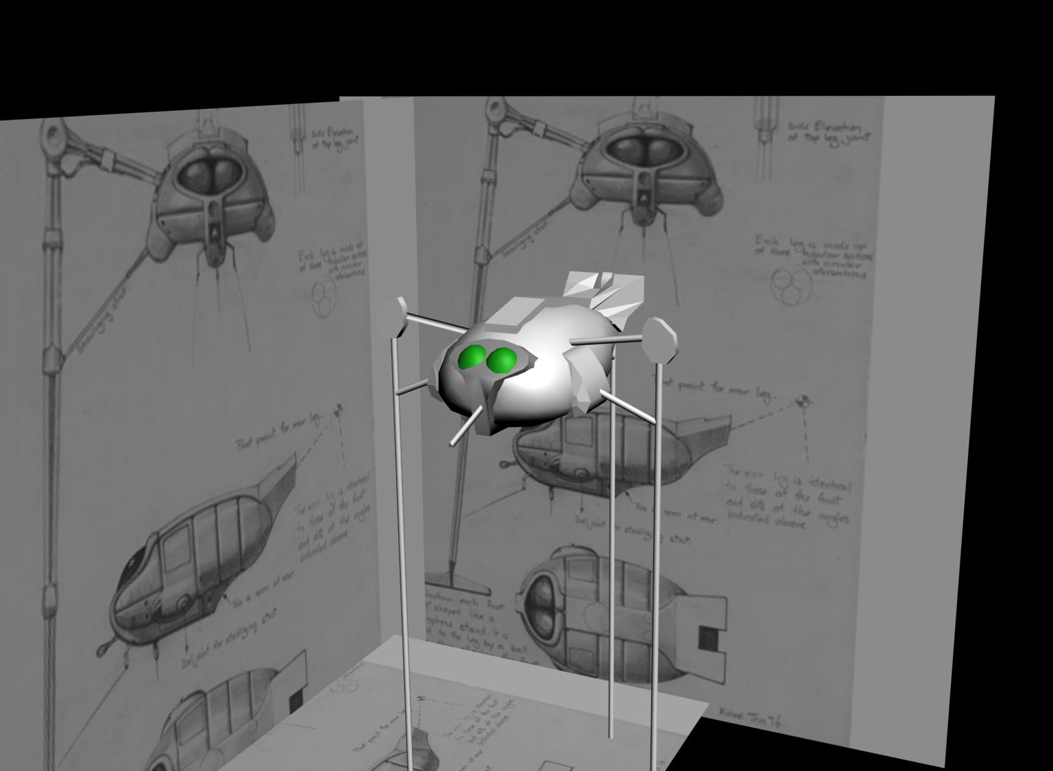 Martian tripod Jeff Wayne's World War image - Mod DB