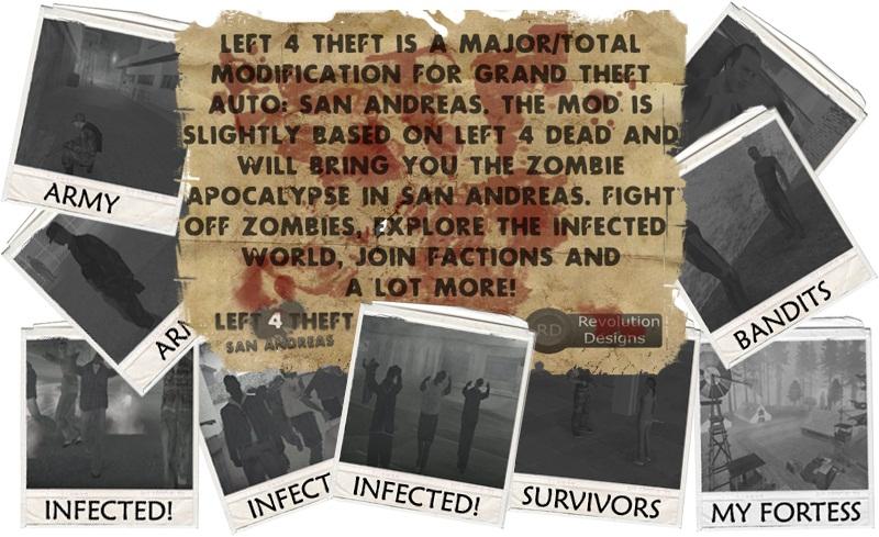 Left 4 Theft: San Andreas mod - Mod DB