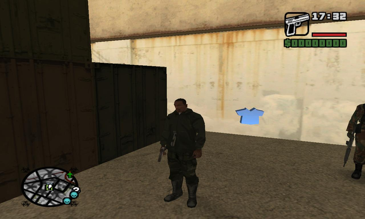 Grand theft auto san andreas clothing stores