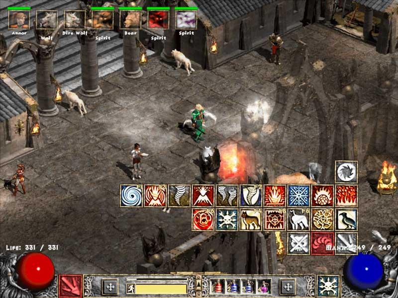 Druid army image - Diablo 2 LOD: maximum Power mod for Diablo II: Lord of Destruction - Mod DB