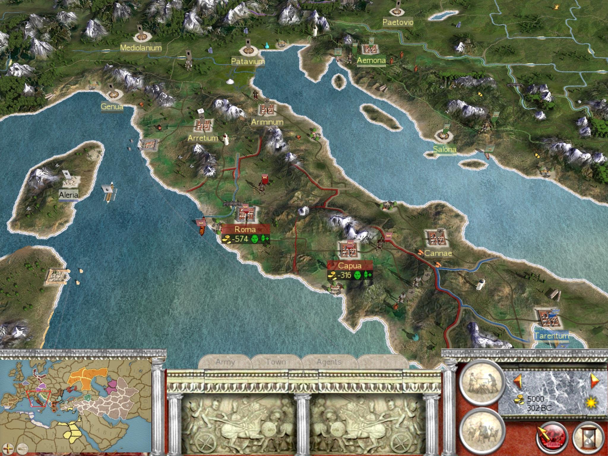 game rome total war rip