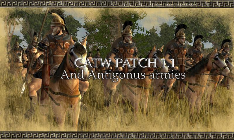 Вышел первый патч для Rome: Total War Total War : Rome II Одно слово.