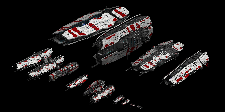 All Ships Image Fairy Empire Yaodu Mod For Homeworld 2