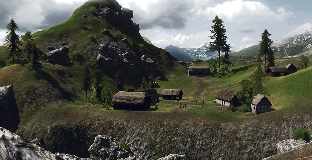 mount and blade how to make your village rich