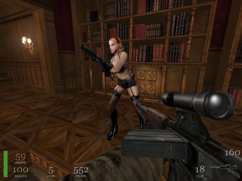 Секс в игре wolfestein