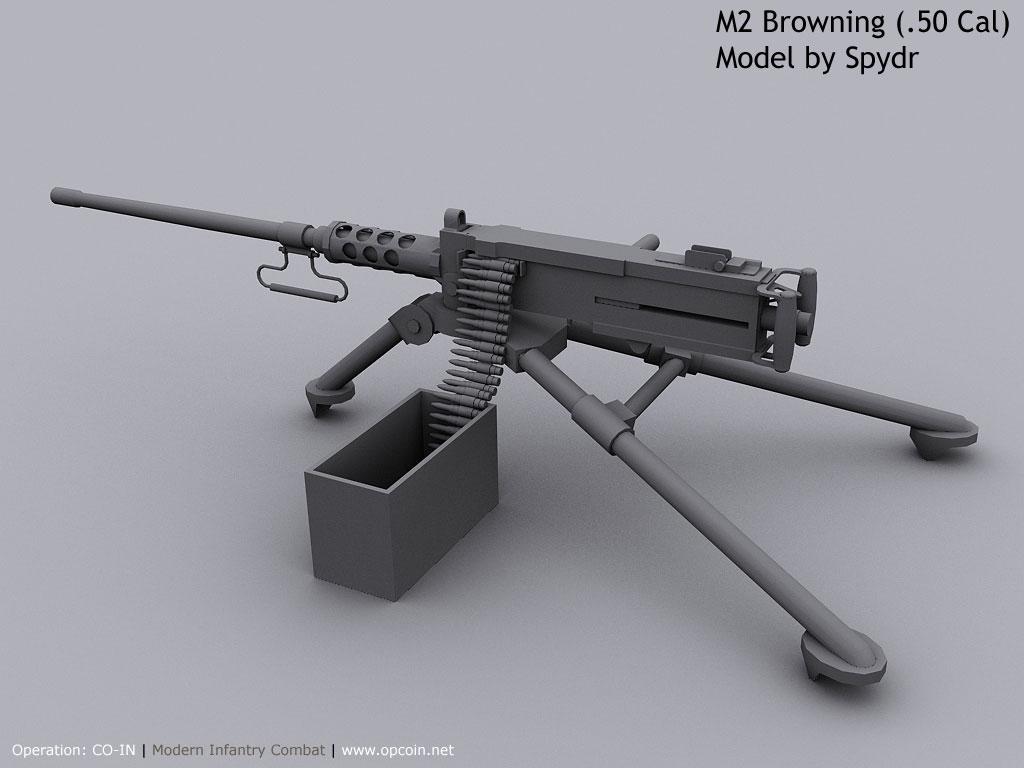 machine gun 50 cal