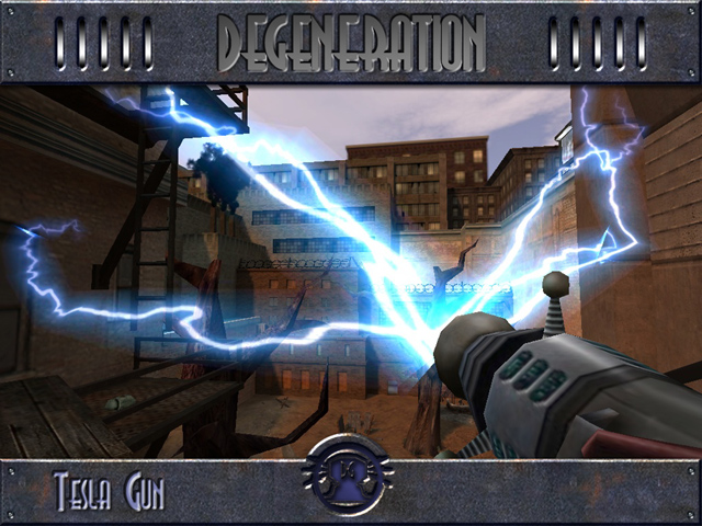 Tesla Gun image - DeGeneration mod for Return To Castle Wolfenstein