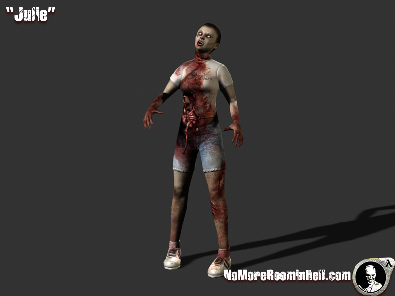 Julie Zombie Model Image No More Room In Hell Mod For