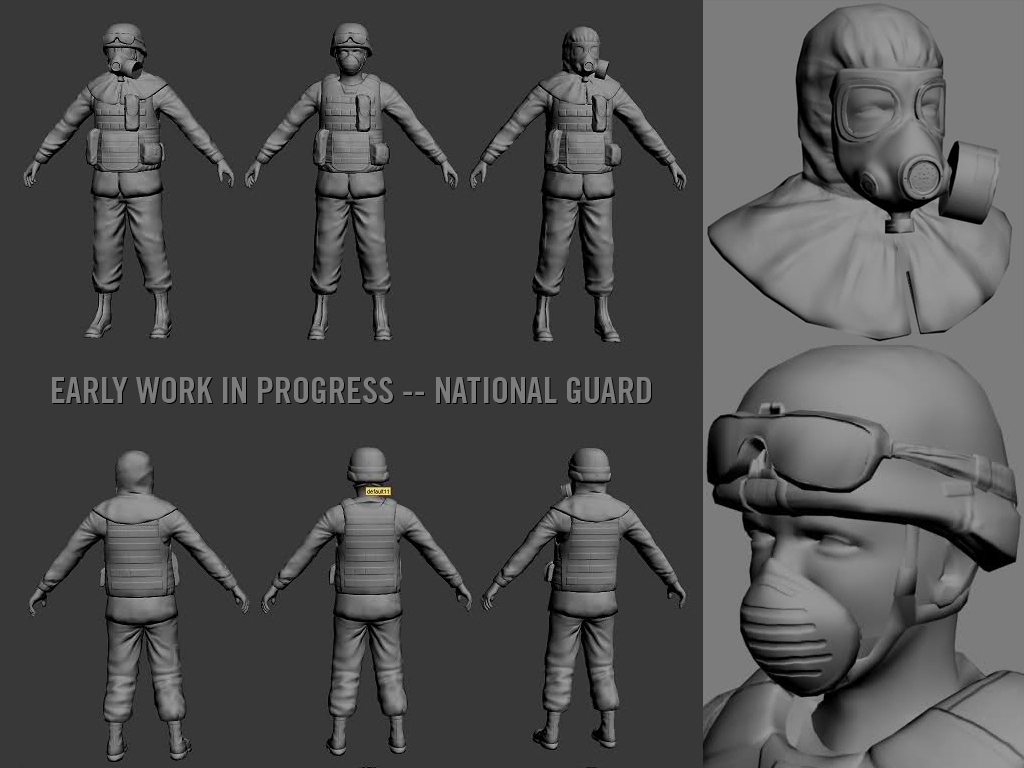 Wip National Guard Image No More Room In Hell Mod For Half Life
