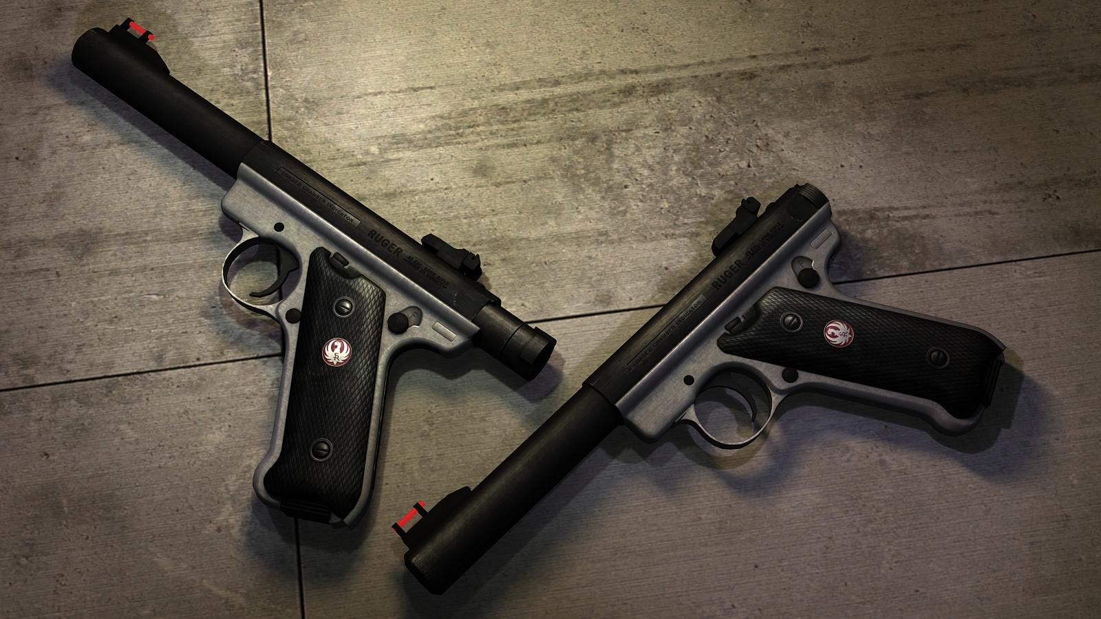 Pistola Ruger Mark III [Imagenes]