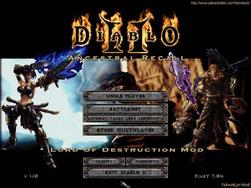 Ancestral Recall mod for Diablo II - Mod DB