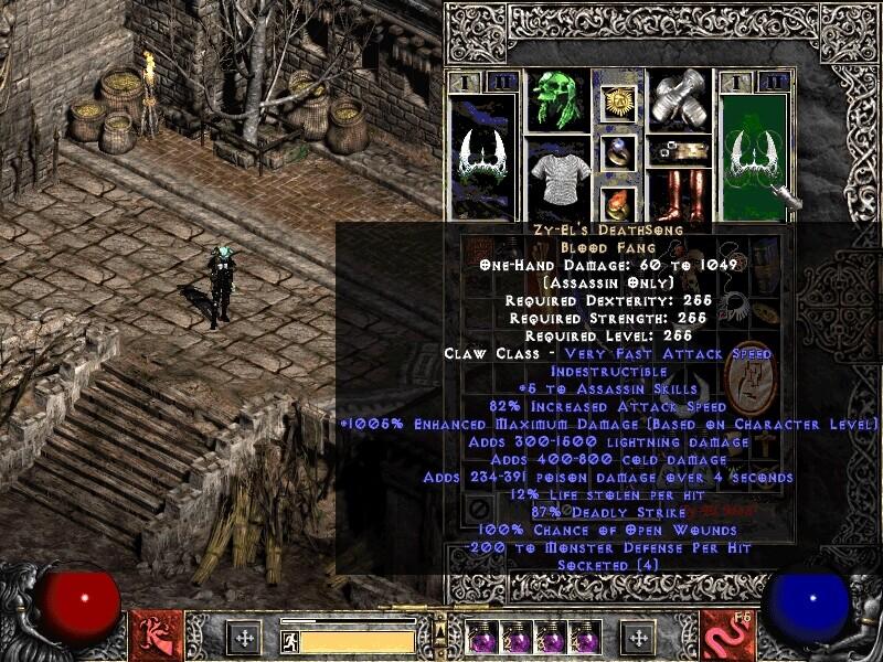 Diablo 2 god hack 1.10