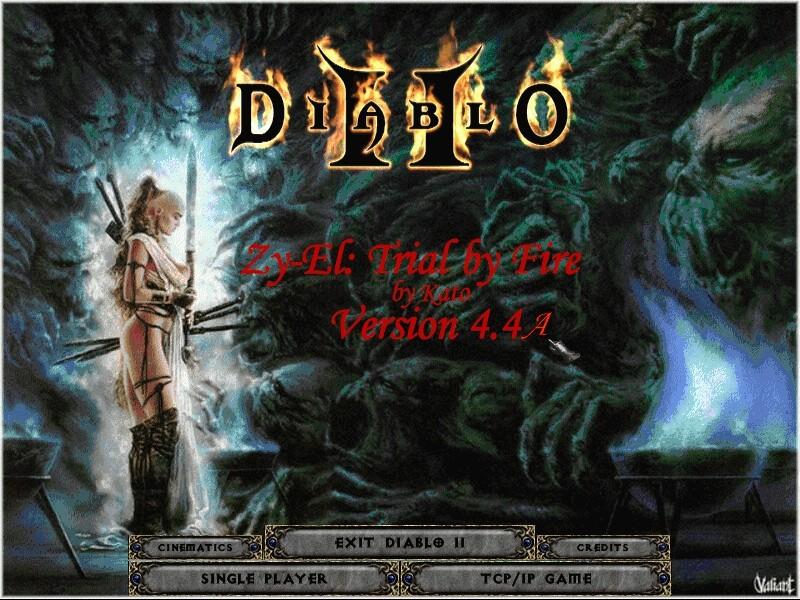 Zy-El: Trial by Fire mod for Diablo II: Lord of Destruction - Mod DB