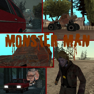 Monster Man Mod for Grand Theft Auto: San Andreas - Mod DB