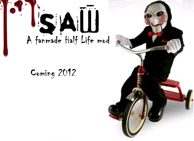Saw Poster Thing Image Saw Fanmade Mod For Half Life 2 Episode Two Mod Db