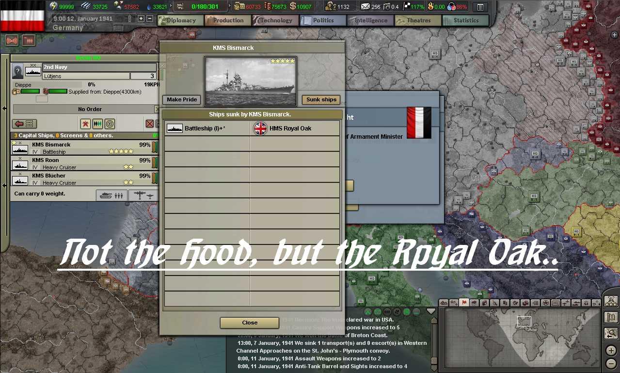 Basic info for Hearts of Iron III Lua modding Bismarck-sunkships-01