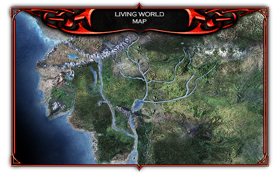 Living world map image from book to game quenta silmarillion mod living world map gumiabroncs Image collections