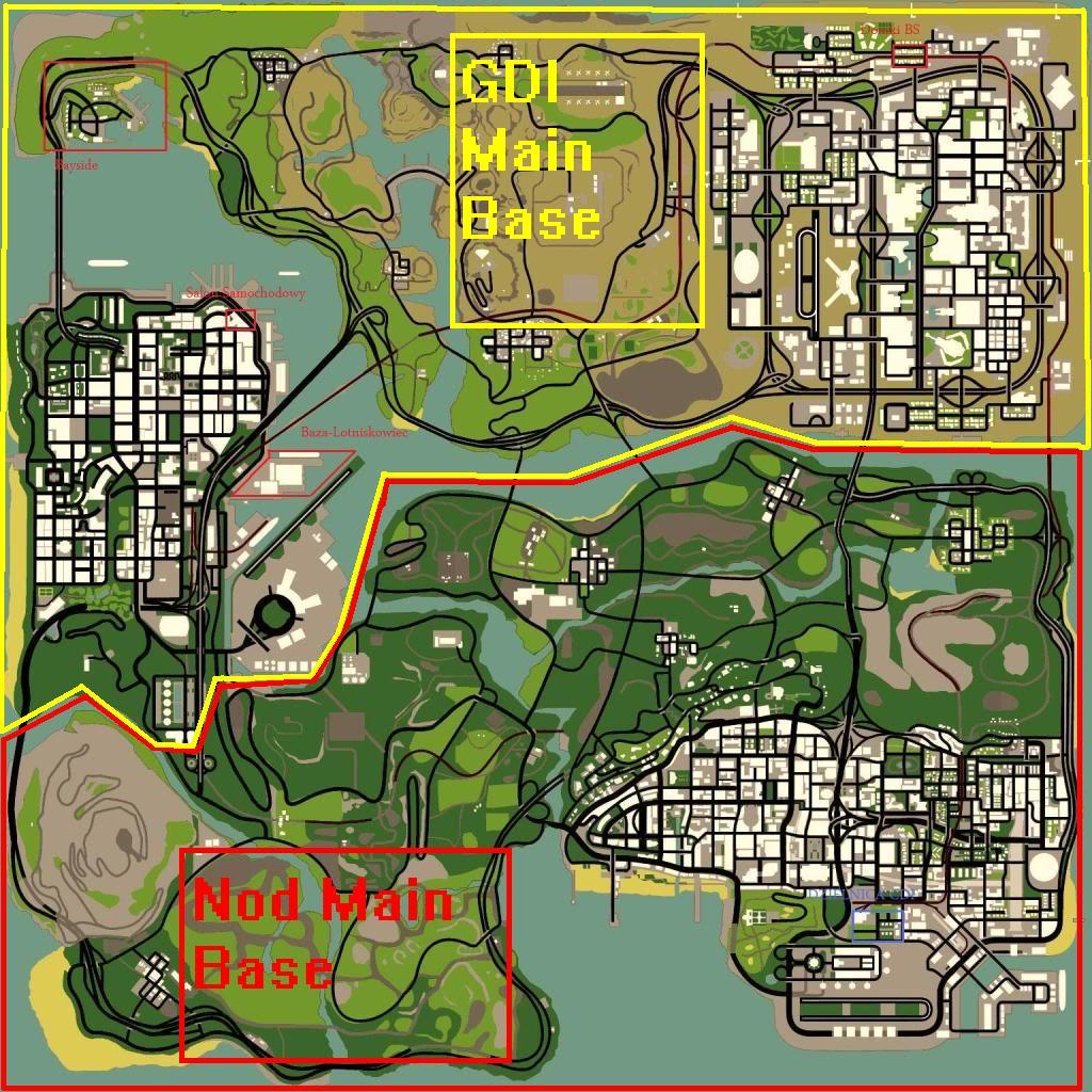 Gta Sa Map Mods
